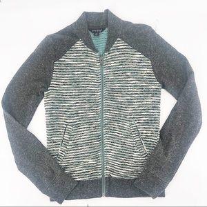 ⚠️ Lucky brand zip up bomber sweater